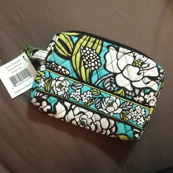 6211ed4648 Vera Bradley Small Cosmetic Bag Island Blooms